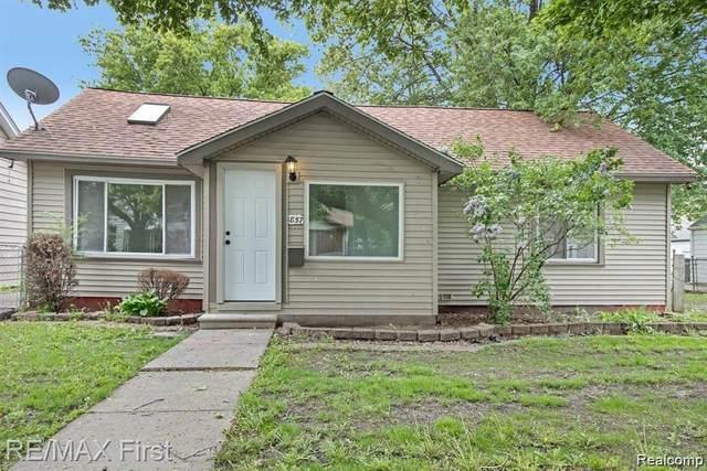 1857 Oconnor Avenue, Lincoln Park, MI 48146 (MLS #R2210072961) :: Berkshire Hathaway HomeServices Snyder & Company, Realtors®