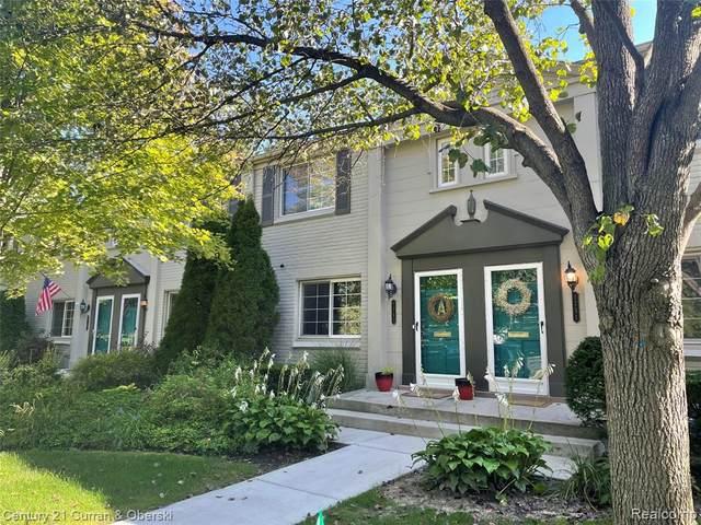1743 Graefield Road #118, Birmingham, MI 48009 (MLS #R2210073707) :: Berkshire Hathaway HomeServices Snyder & Company, Realtors®