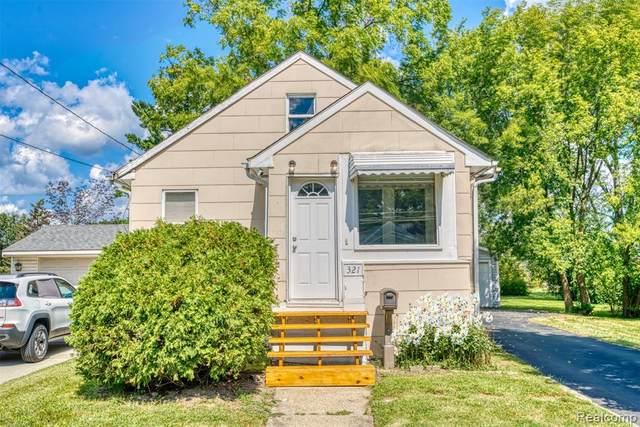 321 Hendrickson Blvd, Clawson, MI 48017 (MLS #R2210074688) :: Berkshire Hathaway HomeServices Snyder & Company, Realtors®