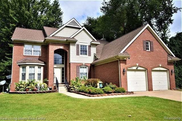 1484 Trailside Blvd, Wixom, MI 48393 (MLS #R2210074866) :: Berkshire Hathaway HomeServices Snyder & Company, Realtors®
