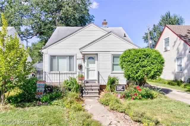4081 Tyler Avenue, Berkley, MI 48072 (MLS #R2210076588) :: Berkshire Hathaway HomeServices Snyder & Company, Realtors®