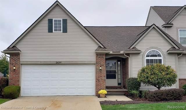2639 Kerria Drive #64, Howell, MI 48855 (MLS #R2210084234) :: Berkshire Hathaway HomeServices Snyder & Company, Realtors®