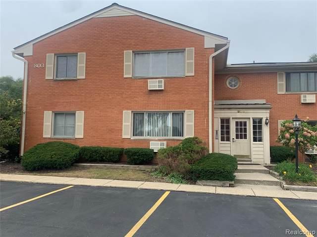 803 Plate St Unit 208 #30, Rochester, MI 48307 (MLS #R2210086874) :: Berkshire Hathaway HomeServices Snyder & Company, Realtors®
