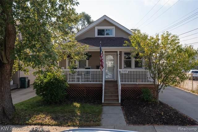 2451 Franklin Road, Berkley, MI 48072 (MLS #R2210083916) :: Berkshire Hathaway HomeServices Snyder & Company, Realtors®
