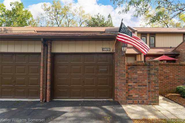 1097 Kirts Boulevard D, Troy, MI 48084 (MLS #R2210089421) :: Berkshire Hathaway HomeServices Snyder & Company, Realtors®