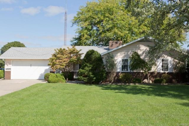 4890 E Dunbar Rd, Monroe, MI 48161 (MLS #R218100906) :: Keller Williams Ann Arbor