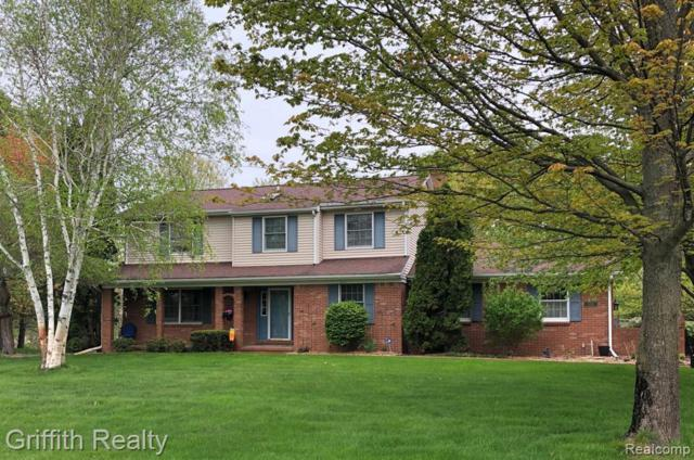 11603 Eagle Way, Brighton, MI 48114 (MLS #R219045865) :: The Toth Team