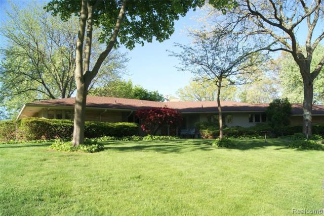 6755 Old Creek Rd, Bloomfield Hills, MI 48301 (MLS #R219049398) :: Berkshire Hathaway HomeServices Snyder & Company, Realtors®