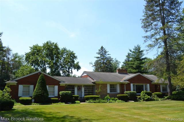 5400 Longmeadow Rd, Bloomfield Hills, MI 48304 (MLS #R219069971) :: The Toth Team