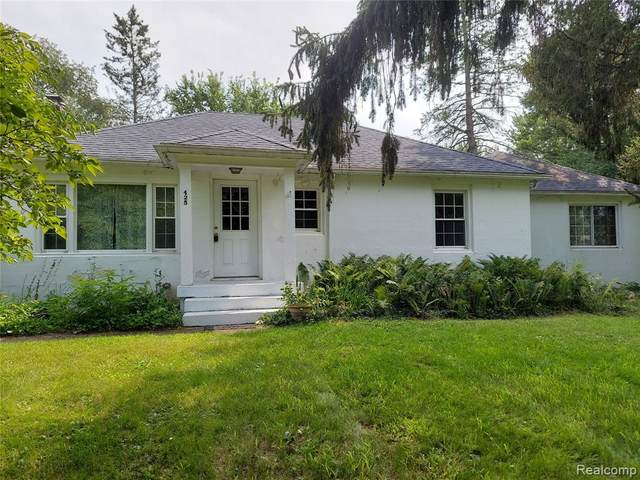 425 E Morton Street, Stockbridge, MI 49285 (MLS #R2210052430) :: Berkshire Hathaway HomeServices Snyder & Company, Realtors®