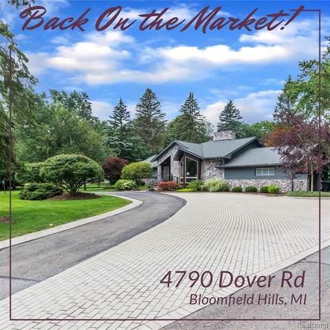 4790 Dover Road, Bloomfield Hills, MI 48304 (MLS #R2210055837) :: Berkshire Hathaway HomeServices Snyder & Company, Realtors®
