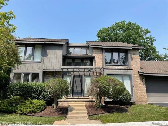 5980 Pinetree Drive, West Bloomfield, MI 48322 (MLS #R2210057106) :: Berkshire Hathaway HomeServices Snyder & Company, Realtors®