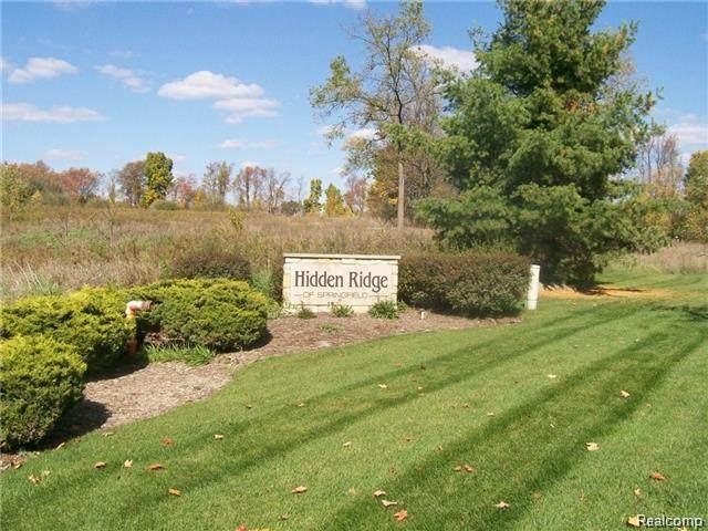 5344 Birch Drive, Davisburg, MI 48350 (MLS #R215064558) :: Berkshire Hathaway HomeServices Snyder & Company, Realtors®
