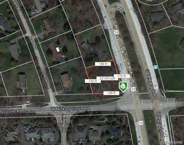 0 Hickory Grove Road, Bloomfield, MI 48302 (MLS #R2200084546) :: Berkshire Hathaway HomeServices Snyder & Company, Realtors®
