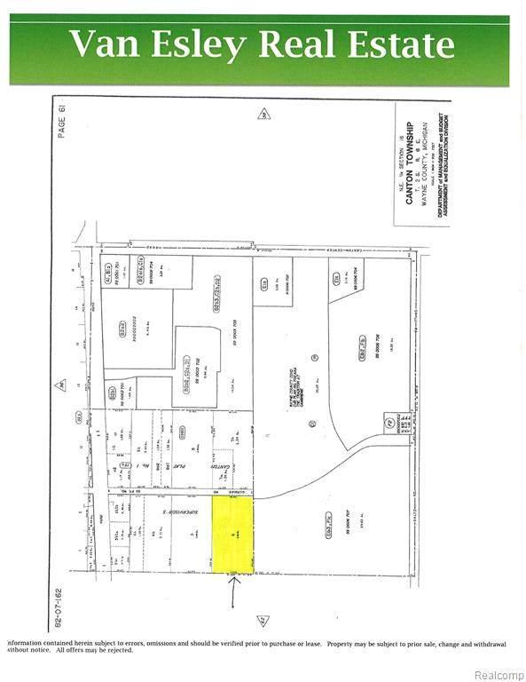 1725 S Gorman Road, Canton, MI 48187 (MLS #R2210012291) :: Berkshire Hathaway HomeServices Snyder & Company, Realtors®