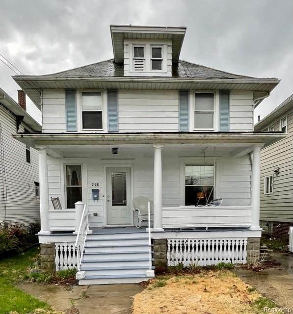 218 E 6th Street, Monroe, MI 48161 (MLS #R2210024037) :: Berkshire Hathaway HomeServices Snyder & Company, Realtors®