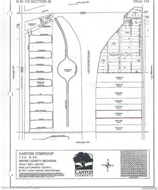 0 Lotz S, Canton, MI 48188 (MLS #R2210069799) :: Berkshire Hathaway HomeServices Snyder & Company, Realtors®