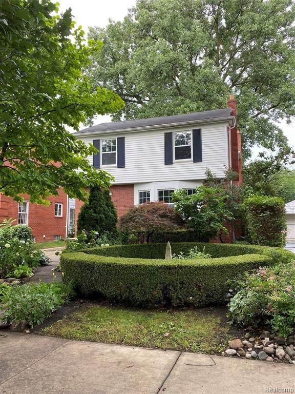 1118 Edgewood Drive, Royal Oak, MI 48067 (MLS #R2210075184) :: Berkshire Hathaway HomeServices Snyder & Company, Realtors®
