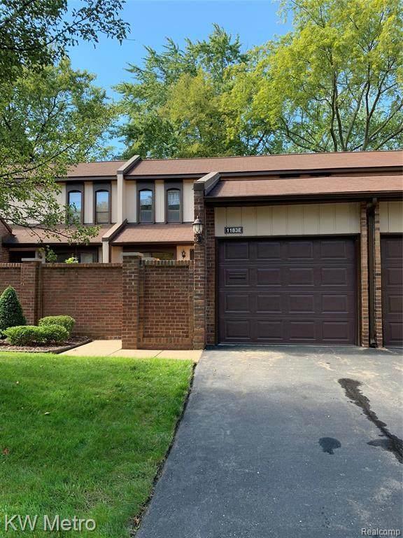 1183 Kirts Boulevard Unit, Troy, MI 48084 (MLS #R2210075942) :: Berkshire Hathaway HomeServices Snyder & Company, Realtors®