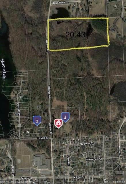 0 Weaver Road E, Milford, MI 48381 (MLS #R2210078020) :: Berkshire Hathaway HomeServices Snyder & Company, Realtors®