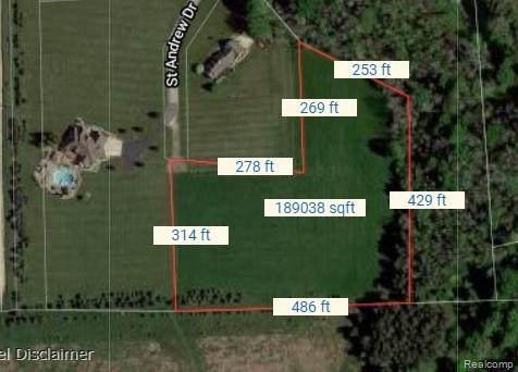 0 St. Andrews Drive, Pigeon, MI 48755 (MLS #R2210077672) :: Berkshire Hathaway HomeServices Snyder & Company, Realtors®