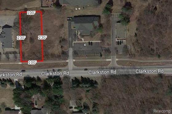 0 Clarkston Road, Clarkston, MI 48346 (MLS #R2210078518) :: Berkshire Hathaway HomeServices Snyder & Company, Realtors®