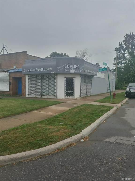 10545 Whittier Street, Detroit, MI 48224 (MLS #R2210079545) :: Berkshire Hathaway HomeServices Snyder & Company, Realtors®