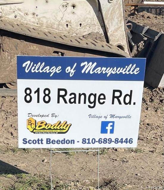 818 Range Rd, Marysville, MI 48040 (MLS #R2210089158) :: Berkshire Hathaway HomeServices Snyder & Company, Realtors®