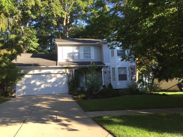 7909 Lake Crest Drive, Ypsilanti, MI 48197 (MLS #R217095123) :: The Toth Team