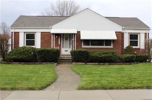 6406 Buckingham Avenue, Allen Park, MI 48101 (MLS #R217103706) :: Berkshire Hathaway HomeServices Snyder & Company, Realtors®