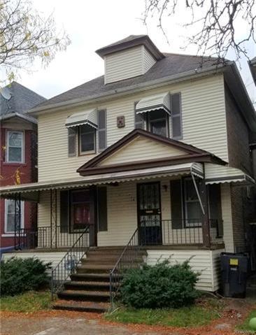 608 Mount Vernon Street, Detroit, MI 48202 (MLS #R217104775) :: The Toth Team