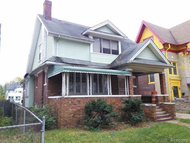 510 Josephine St, Detroit, MI 48202 (MLS #R219013894) :: The Toth Team
