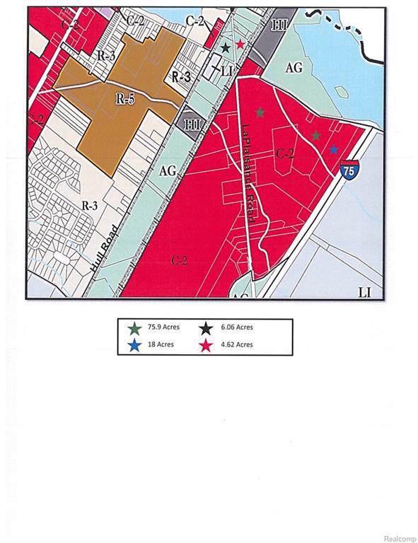 0 Dunbar Rd, Monroe, MI 48161 (MLS #R219015909) :: The Toth Team