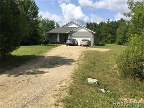 4863 Bluewater Dr, Otter Lake, MI 48464 (MLS #R219022510) :: Berkshire Hathaway HomeServices Snyder & Company, Realtors®