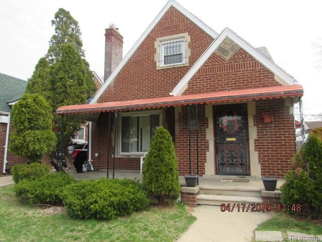 18252 Steel St, Detroit, MI 48235 (MLS #R219035528) :: The Toth Team