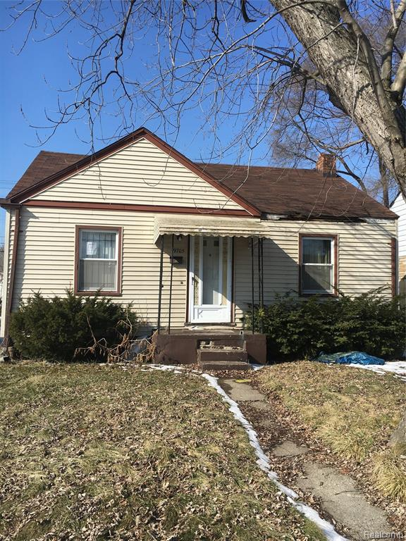 19705 Dean St, Detroit, MI 48234 (MLS #R219047437) :: The Toth Team