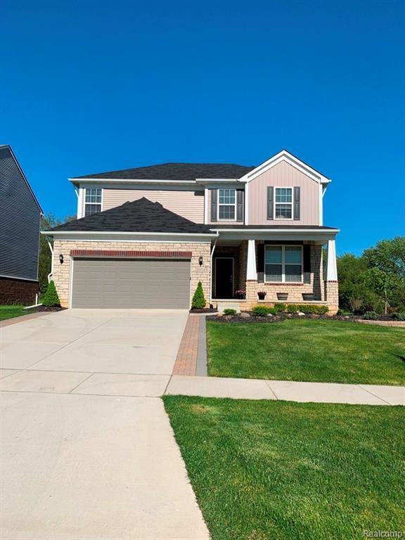 29726 Macintosh Ln, New Hudson, MI 48165 (MLS #R219049409) :: Berkshire Hathaway HomeServices Snyder & Company, Realtors®