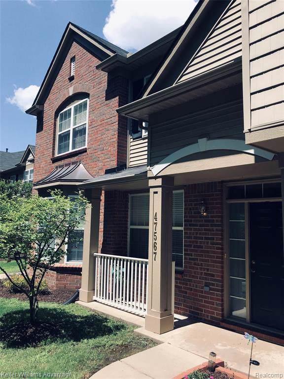 47567 Pembroke Dr, Canton, MI 48188 (MLS #R219082372) :: Berkshire Hathaway HomeServices Snyder & Company, Realtors®