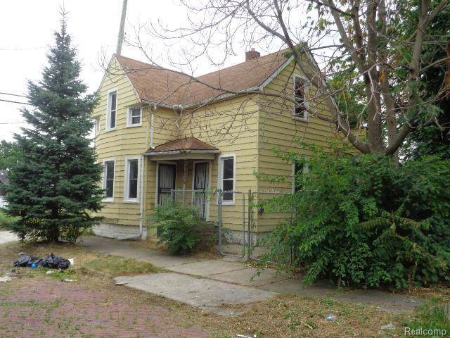 3435 Ruskin St, Detroit, MI 48216 (MLS #R219085127) :: Berkshire Hathaway HomeServices Snyder & Company, Realtors®