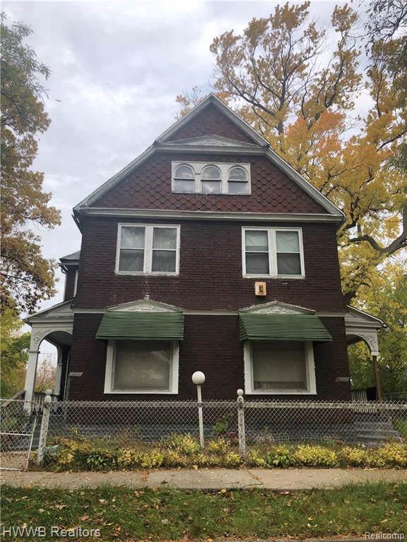 3639 Arndt St, Detroit, MI 48207 (MLS #R219107981) :: Berkshire Hathaway HomeServices Snyder & Company, Realtors®