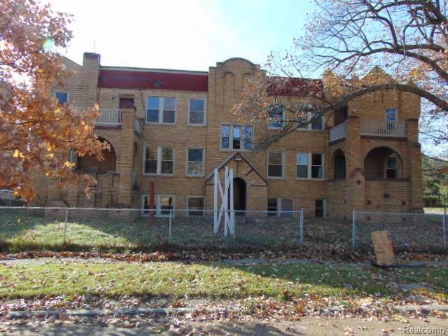 13835 Lasalle, Detroit, MI 48238 (MLS #R219116297) :: Berkshire Hathaway HomeServices Snyder & Company, Realtors®