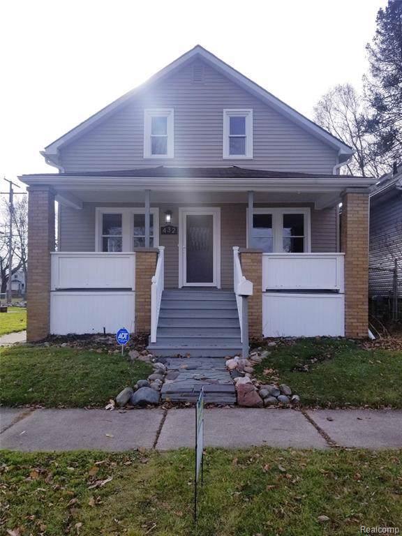 432 E Milton Ave, Hazel Park, MI 48030 (MLS #R219118877) :: Berkshire Hathaway HomeServices Snyder & Company, Realtors®