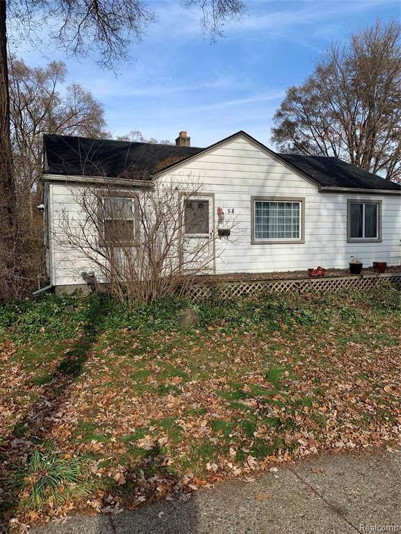 58 W Jarvis Ave, Hazel Park, MI 48030 (MLS #R219119120) :: Berkshire Hathaway HomeServices Snyder & Company, Realtors®