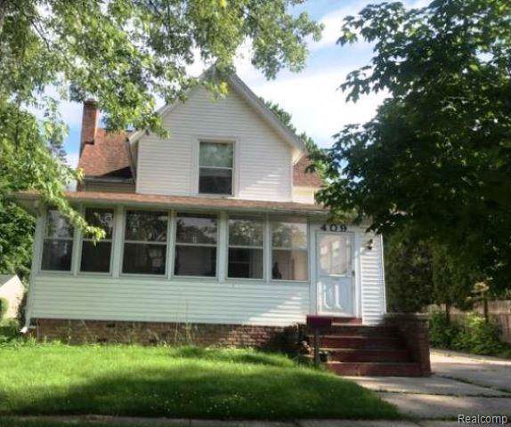 409 W Sibley St, Howell, MI 48843 (MLS #R219121816) :: Berkshire Hathaway HomeServices Snyder & Company, Realtors®