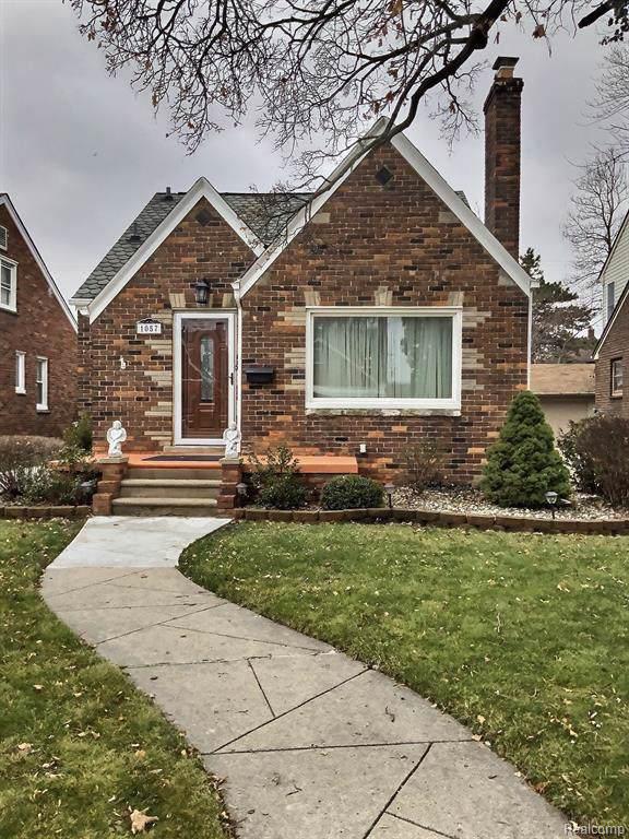 1057 New York Ave, Lincoln Park, MI 48146 (MLS #R2200003274) :: Berkshire Hathaway HomeServices Snyder & Company, Realtors®