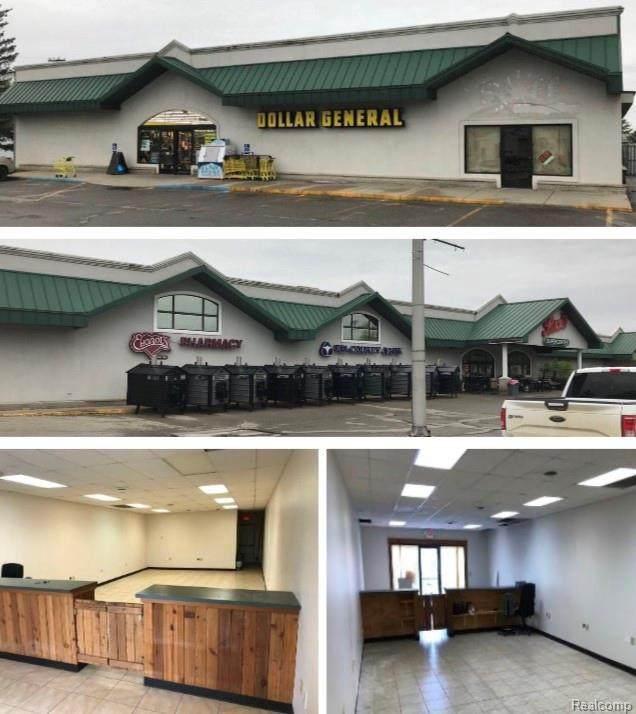4448 Main St Unit#, Brown City, MI 48416 (MLS #R2200014186) :: Berkshire Hathaway HomeServices Snyder & Company, Realtors®
