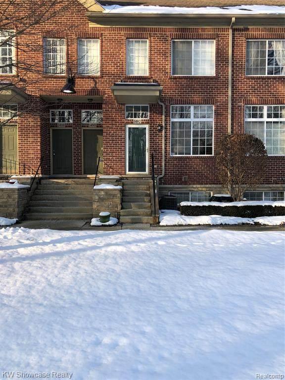1492 Crimson Way, Walled Lake, MI 48390 (MLS #R2200014638) :: Berkshire Hathaway HomeServices Snyder & Company, Realtors®