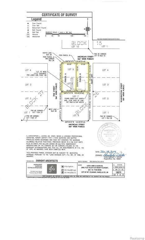 221 W Michigan Street, Mount Pleasant, MI 48858 (MLS #R2200032642) :: Berkshire Hathaway HomeServices Snyder & Company, Realtors®