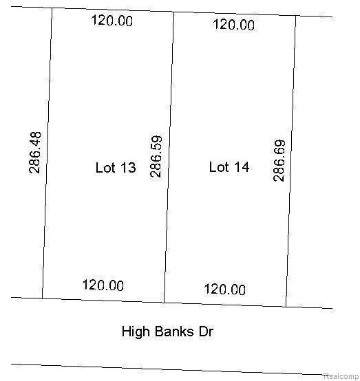 0 High Banks, Benton, MI 49721 (MLS #R2200060829) :: Berkshire Hathaway HomeServices Snyder & Company, Realtors®