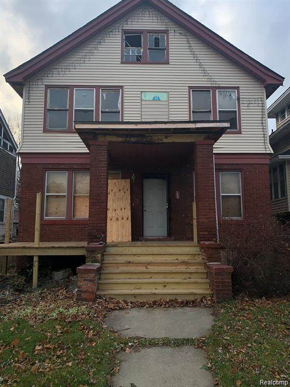 5415 Burns St, Detroit, MI 48213 (MLS #R2200061479) :: Berkshire Hathaway HomeServices Snyder & Company, Realtors®